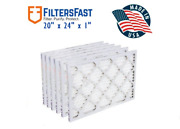 Filters Fast Brand 20x24x1 Hvac Air Filters Merv 8 Case Of 6 Filters