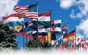 2x3 United Nations Member Set 2x3' Flags International 193 Un Countries