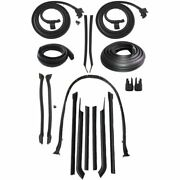 1966 Buick Lesabre And Wildcat 2dr Convertible Body Weatherstrip Seal Kit