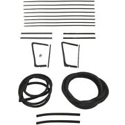 1955 1956 Buick And Oldsmobile 88, 98 2dr Hardtop Glass Weatherstrip Seal Kit