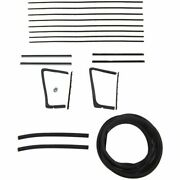 1954 1955 1956 Buick And Oldsmobile 2dr Convertible Glass Weatherstrip Seal Kit
