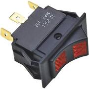12-thermo Plastic Housing Illuminated 15a 12v 3 Position Rocker Switch 12441