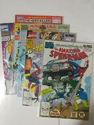 Spiderman Comic Lot The Amazing Spider-man Annuals 23 24 25 26 27 Vf+ Bagged