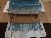 1970 70 Chevy Impala Blue Rear Vinyl Blue Seat Cover Upholstery New Restore