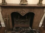 Antique Fireplace Mantel Made In Paris In 1936