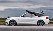 2008-2017 Bmw 1-seriese88 Cabrio Replacement Convertible Soft Top-bordeaux