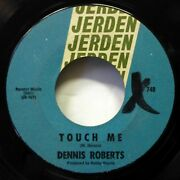 Dennis Roberts 45 Prison Bound / Touch Me Jerden Obscure Teen Country D301 Hear