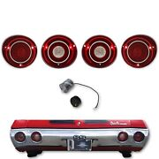71 Chevy Chevelle Ss And Malibu Led L R Tail Reverse Light Lamp Lens And Flasher Set