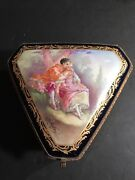 An Antique Sevres Style Jewerly Box Circa 1920 / Signed Rochette