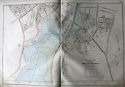 1906 Winchester Middlesex Co Ma Mystic Valley Parkway Symmes Corner Atlas Map