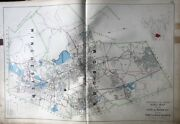 1906 City Of Woburn Town Of Winchester Middlesex County Ma. Plat Atlas Map
