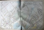 1906 Winchester Middlesex Co Ma Wildwood Cemetery Wedge And Winter Pond Atlas Map