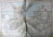 1906 Middlesex County Ma Winchester High School And Town Hall Mill Pond Atlas Map
