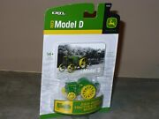 1923 Model D 1/64 Toy John Deere Tractor And Engine Museum Edition Nip Ertl
