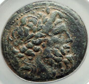 Antiochos Iv Seleukid Antioch Greek Coin For Almost-conquest Of Egypt Ngc I68298