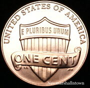 2012 D Lincoln Shield Penny Uncirculated Coin From Bank Roll