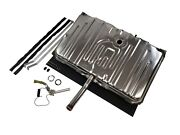70-72 Chevelle Stainless Steel Gas Tank 3 Vents W/ Sending Unit And Strap Kit