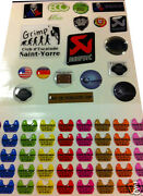 100 Stickers 3d Sticker Doming With Your Own Advertising 50 X 25 Mm