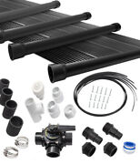 7-2x20and039 Sunquest Solar Swimming Pool Heater Complete System With Roof Kits