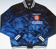 Coast Guard Station Fort Myers Beach-fl Embroidered 1-sided Satin Jacket