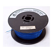 Cooper Wire-wrap 990095 Si 24 Awg Hook-up Silver Plate Copper Blue Teflon 1000and039