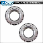 Rear Wheel Bearing Lh Rh Kit Pair Set Of 2 For Dodge Jeep Mercedes New