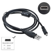 3ft Usb Pc Data Sync Cable Cord For Pentax Camera Optio M10 M30 M40 M50 M60 M70
