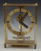 Kundo Electronic Kieninger And Obergfell Mantle Clock West Germany Vintage