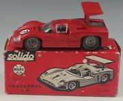 Solido Chaparral 2f By Marx Toy Sport Car 1/43 Scale Red 169 With Box France