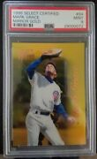 Mark Grace 1996 Select Certified Mirror Gold Psa 9 Chicago Cubs