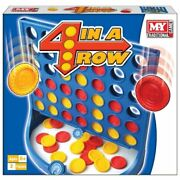 Join Four Connect 4 In A Row Board Game Family Children Kids Toy Party Fun New