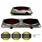 Ovente Hot Plate Electric Countertop Infrared Stove Bgi Series