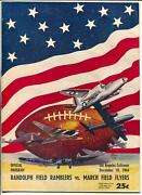 Military League Football Game Program Wwii 12/10/1944-woody Strode-vg/fn