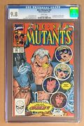 New Mutants 87 Andbull Cgc 9.8 Andbull 1st App Cable Andbull White Pages 1991 Marvel Comics