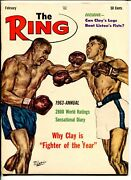 The Ring -02/19634-cassius Clay-fighter Of The Year-vf