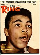 The Ring -09/1963-cassius Clay-vf