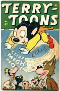 Terry-toons Comics 47 1946- Mighty Mouse- Timely Golden Age Fn