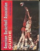 Aba Official Basketball Guide 1971-72-team And Player-pic-bios-rick Barry-vg