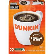 Dunkinand039 Donuts Original Blend Coffee 24 To 144 Count Keurig K Cup Pick Any Size