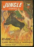 Jungle Stories 1950 Wint- George Gross Cover Vg