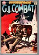 G.i Combat 84-really Cool Greytone Cover-dc War Silver Age Vg