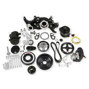 20-190bk Holley Premium Mid-mount Complete Ls7 Accessory Drive System