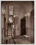 A Nice House With The View Of The Stairs Rome Gelatin Silver 1910c Vasari L469