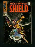 Nick Fury Agent Of Shield 6 1968- Sci Fi Cover- Vf/nm