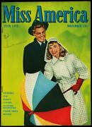Miss America Comics Vol 5 1 1946- Patsy Walker- Timely Golden Age Vf-