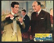 True As A Turtle Lobby Card- John Gregson And Cecil Parker Drinking.