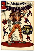 Amazing Spider-man 47-silver-age Comic Book First Mary Jane Peter Parker Date