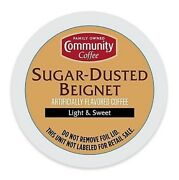 Community Coffee Sugar Dusted Beignet Coffee 18 To 144 Keurig Kcup Pick Any Size