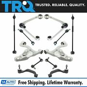 Trq Front Rear Control Arm Sway Bar Tie Rod Steering Suspension Kit 12pc
