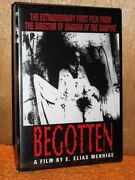 Begotten Dvd, 2001 New First Film From The Director Of Shadow Of The Vampire
